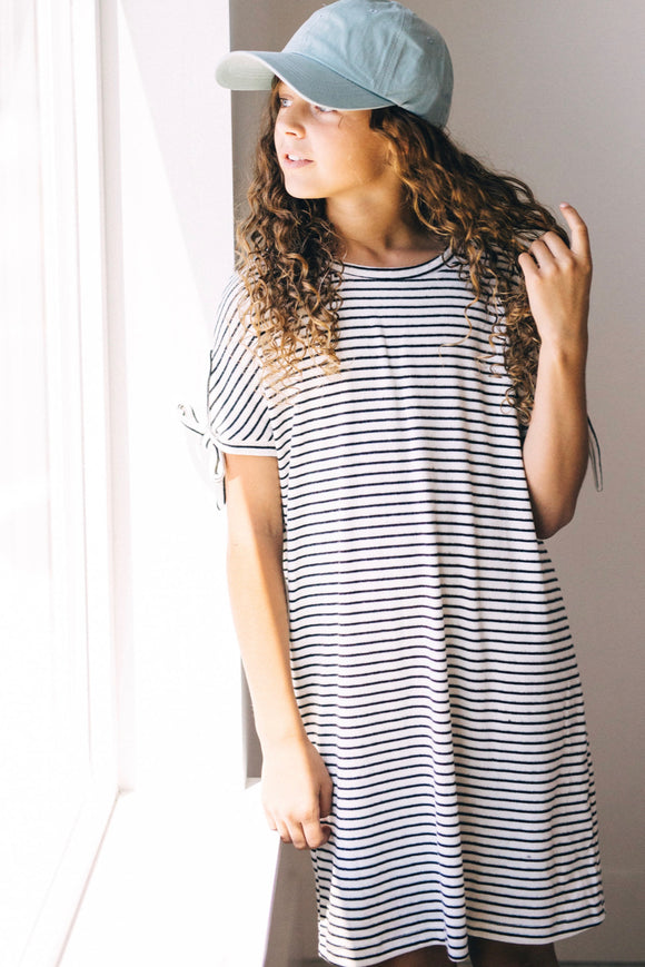 Nashville Stripe Dress | ROOLEE Kids