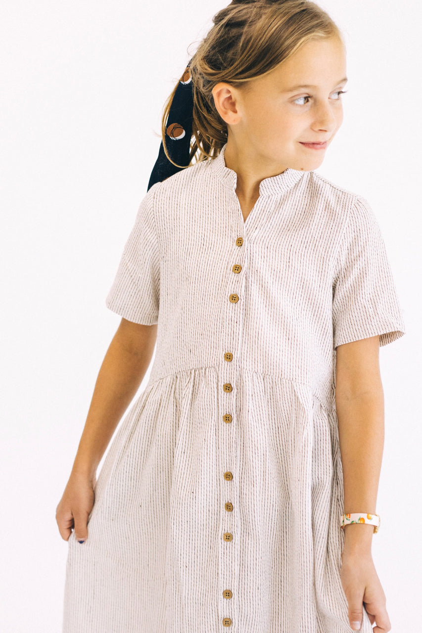 Mini Clements Woven Dress