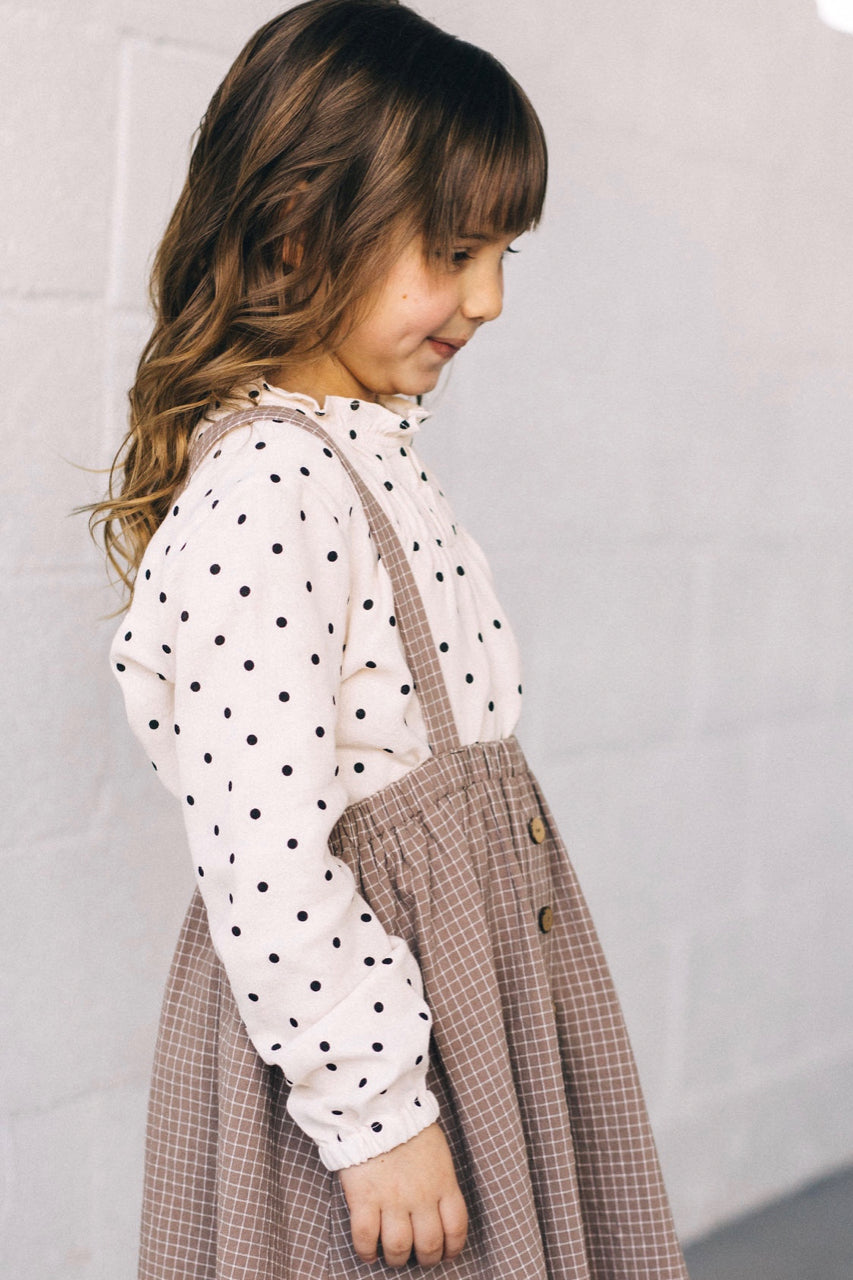 Girls Polka Dot Top | ROOLEE
