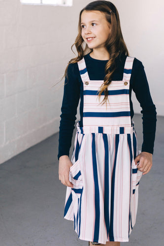 Kids Overall Jumper Dress | ROOLEE