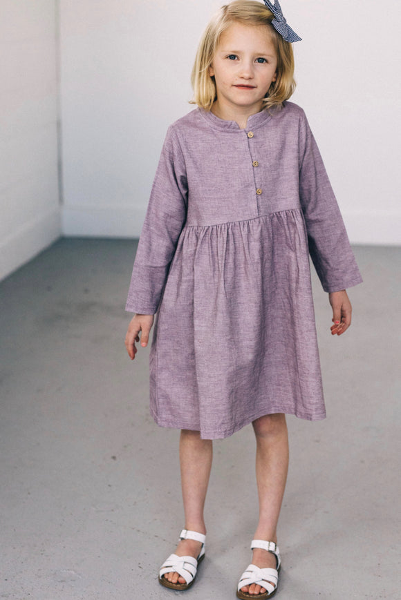 Purple Dress Girls | ROOLEE
