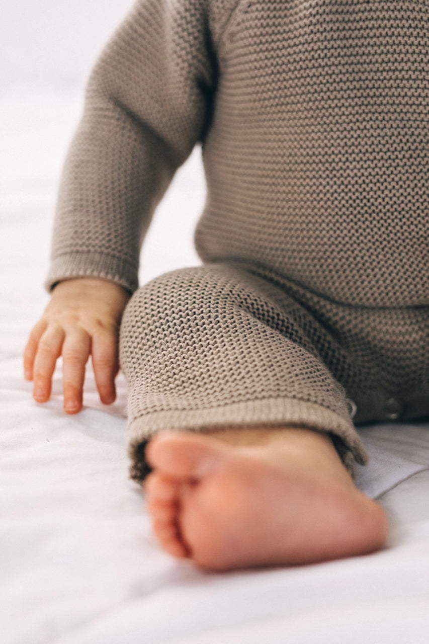 Cable Knit Onesie | ROOLEE