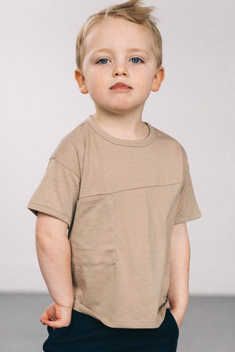 Little Boy Pocket Tees| ROOLEE