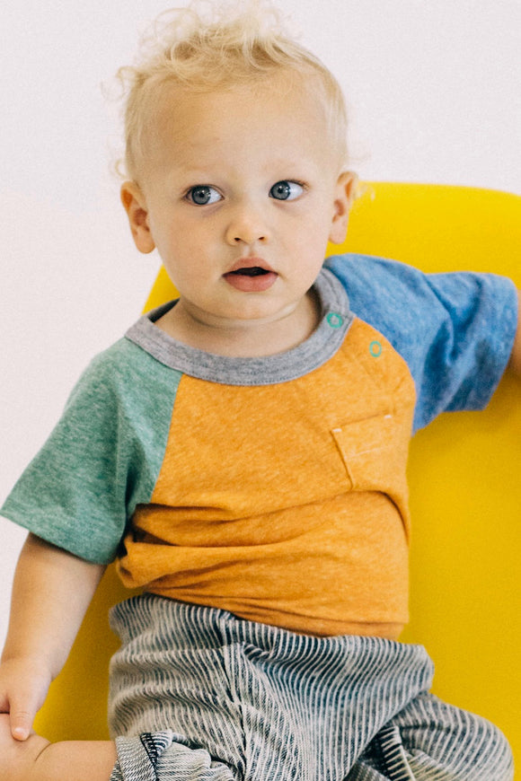 Multicolor Casual Tee Shirt Outfits For Kids | ROOLEE Kids