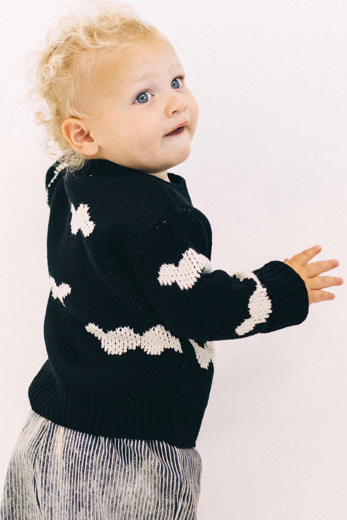 Not a Cloud in the Sky Sweater | ROOLEE Kids