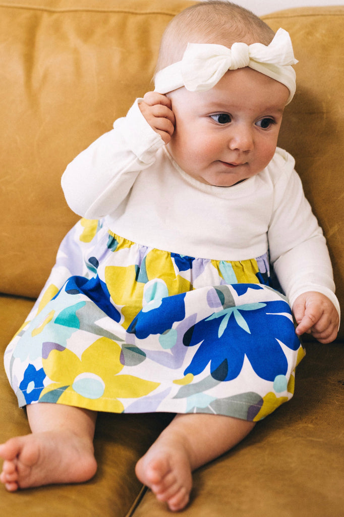 Cute And Comfy Floral Dress For Baby Girls | ROOLEE Kids