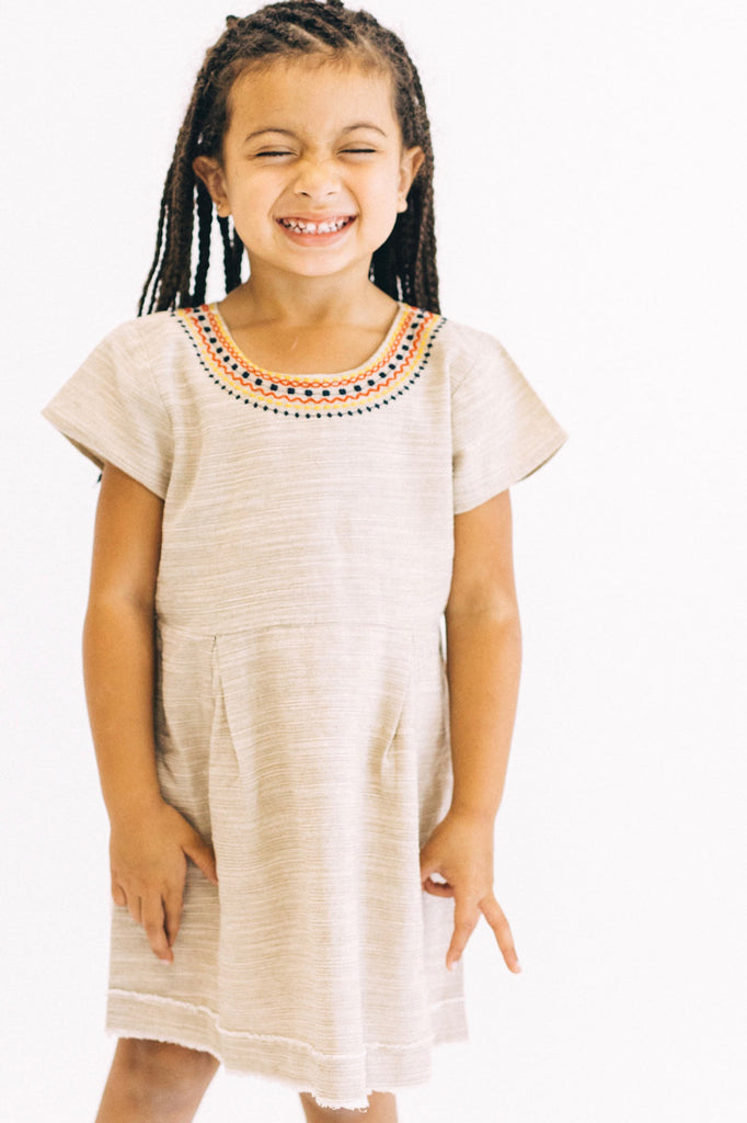Gold Coast Detail Dress | ROOLEE Kids