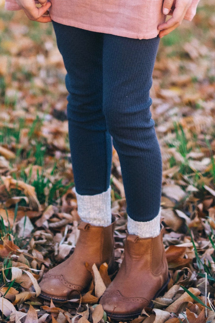 Pointelle Leggings | ROOLEE Kids