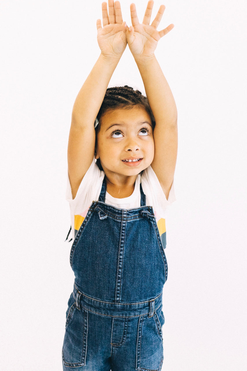 Denim Overalls Outfit Ideas For Little Girls | ROOLEE Kids