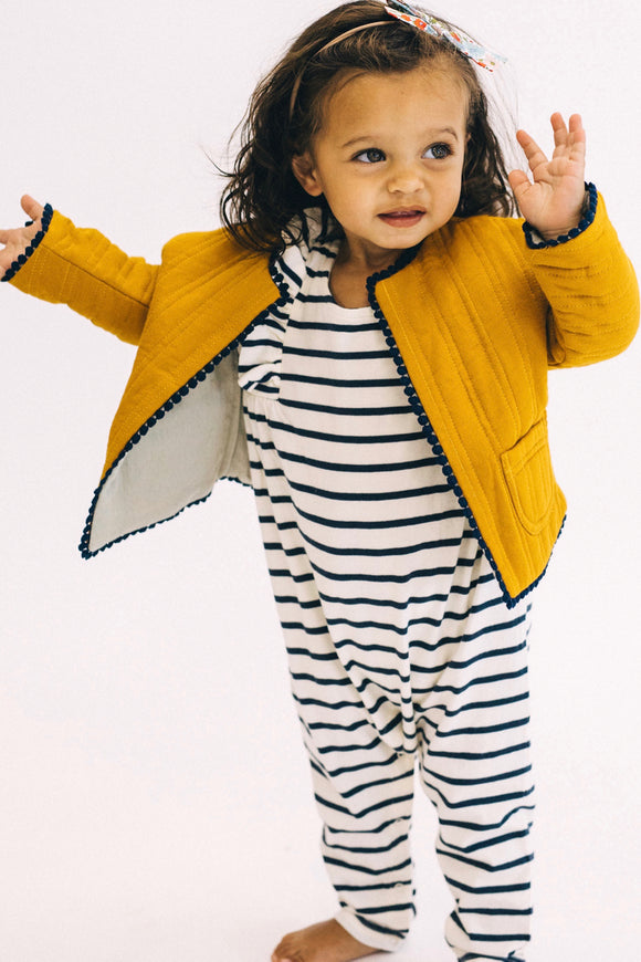 Kids Yellow Jacket Outfit | ROOLEE