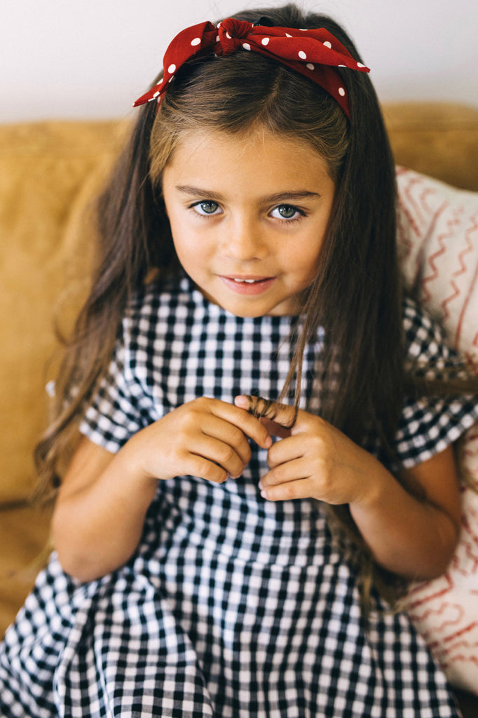 Gingham Dress Outfit | ROOLEE Kids