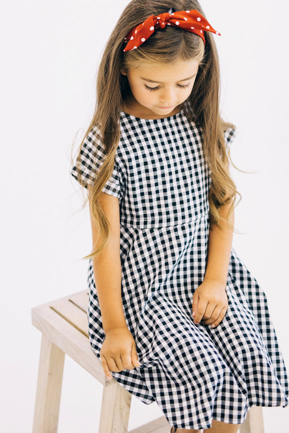 Westbrook Gingham Dress | ROOLEE
