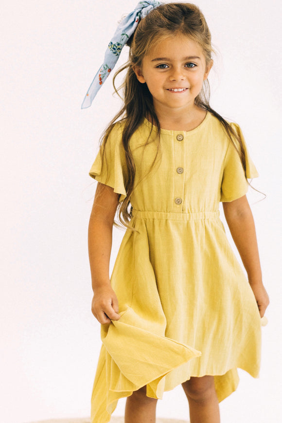 Mini Zoe Midi Dress | ROOLEE Kids