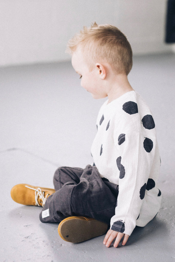 Boys Polka Dot Top | ROOLEE