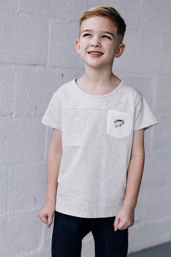 Boys Graphic Pocket Tee | ROOLEE