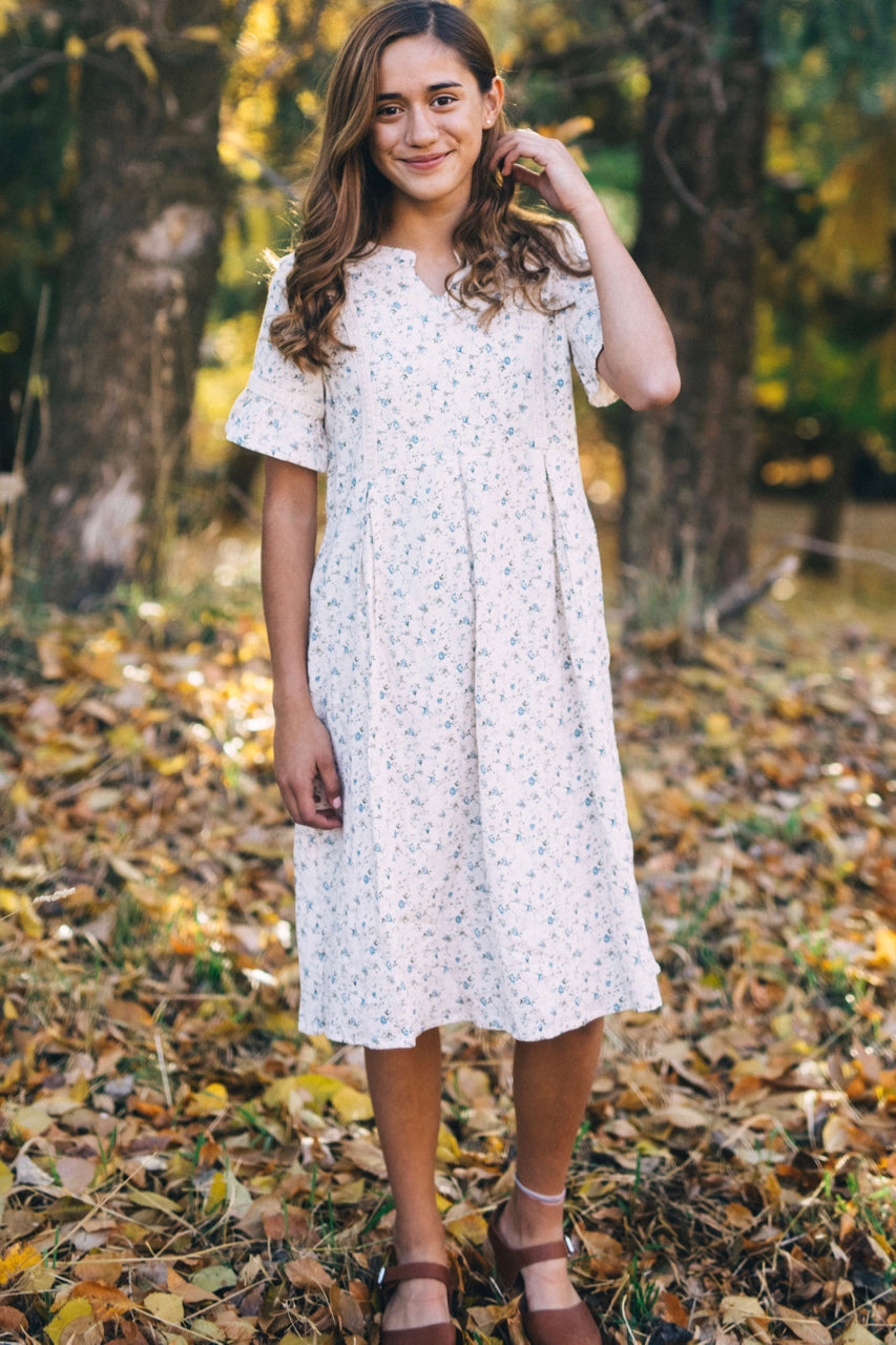 Short Sleeve Casual Dress For Girls | ROOLEE Kids