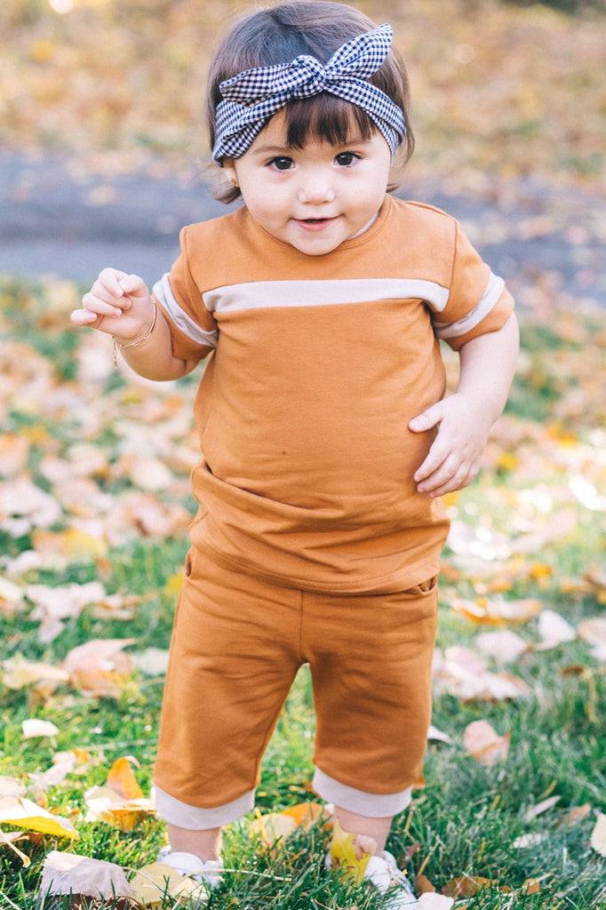 McClain Stripe Set | ROOLEE Kids