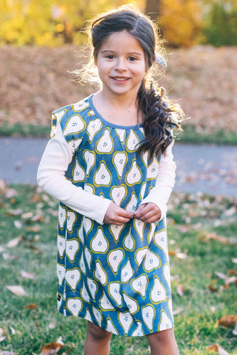 Peck of Pears Layered Dress | ROOLEE Kids