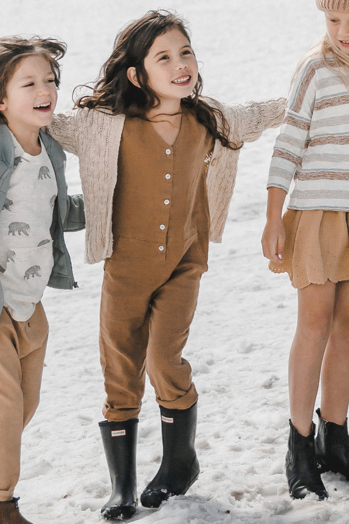 Girls Jumpsuits for Winter | ROOLEE