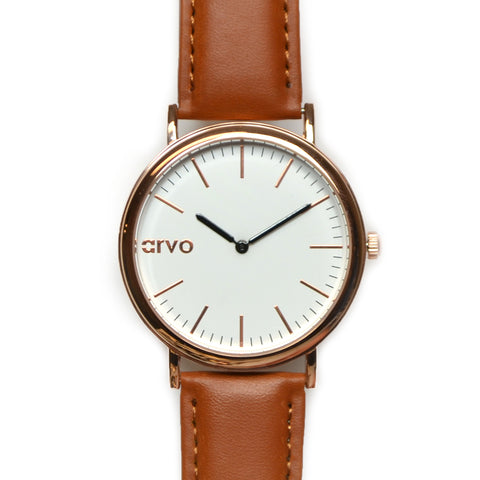 Arvo White Time Sawyer Rose Case