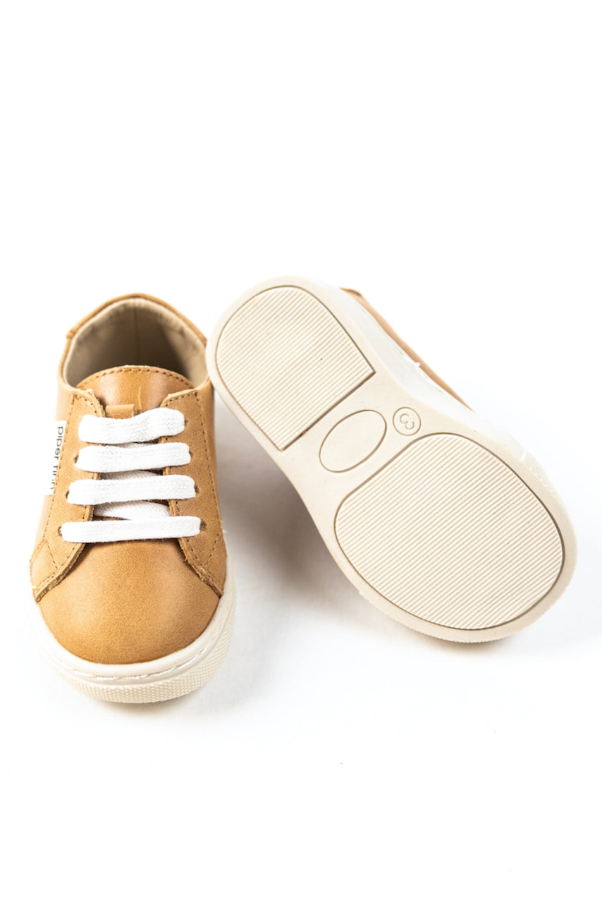 Tan lace up sneakers | ROOLEE
