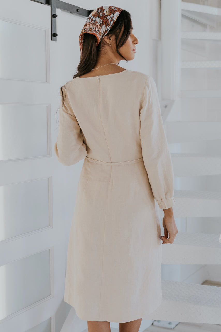 Long Sleeve Nursing Friendly Dresses | ROOLEE