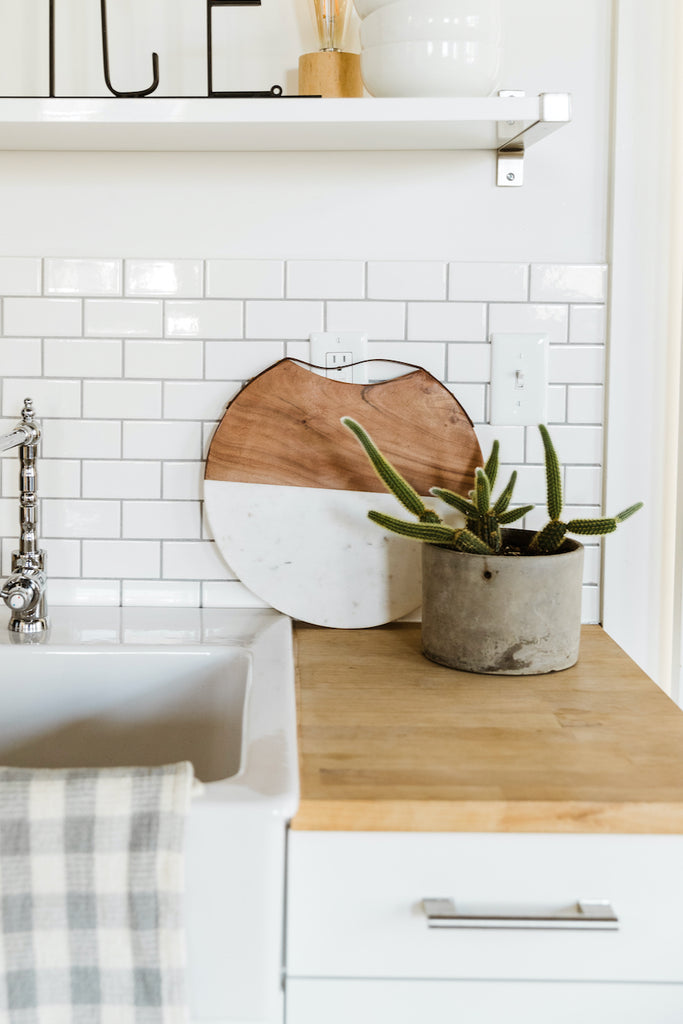 Marble and Wood Cutting Board | ROOLEE