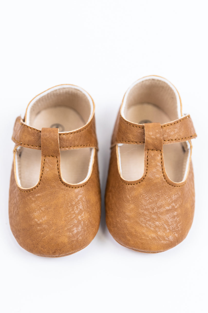 Tan Baby Shoes | ROOLEE