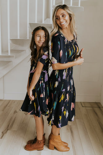 Mom and Daughter Trendy Matching Dresses | ROOLEE