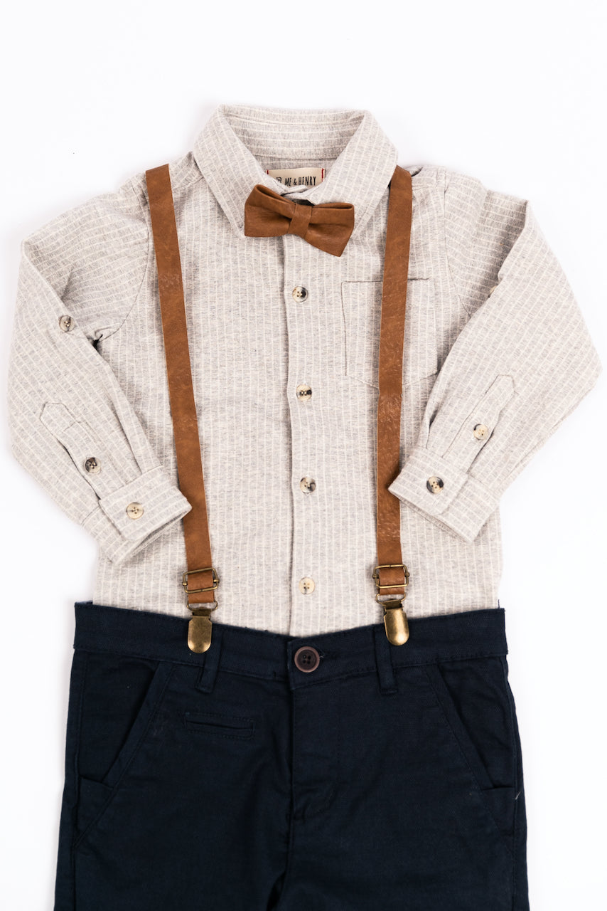 Boys Suspender Set | ROOLEE