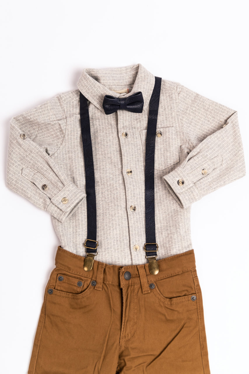 Baby Leather Suspenders | ROOLEE
