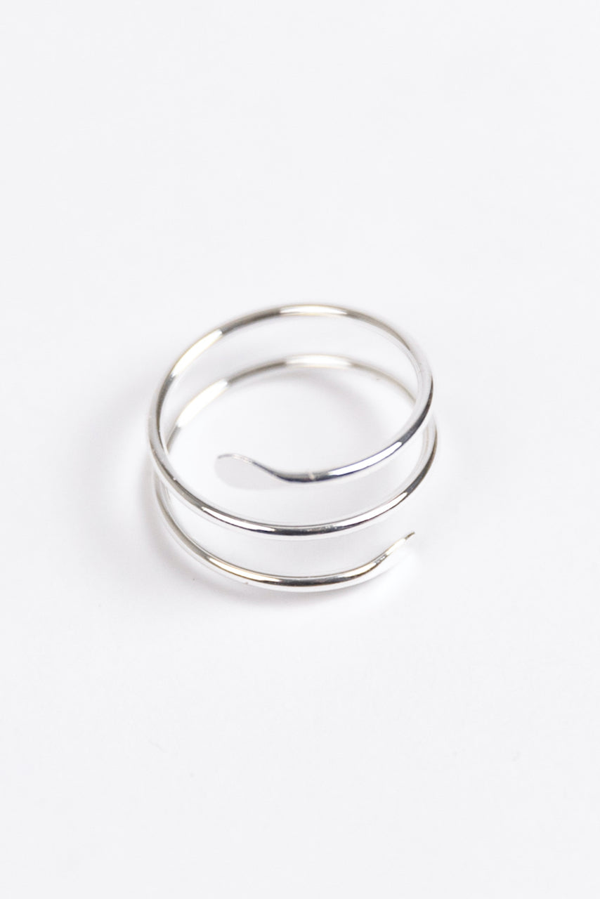 Silver Plated Adjustable Rings | ROOLEE