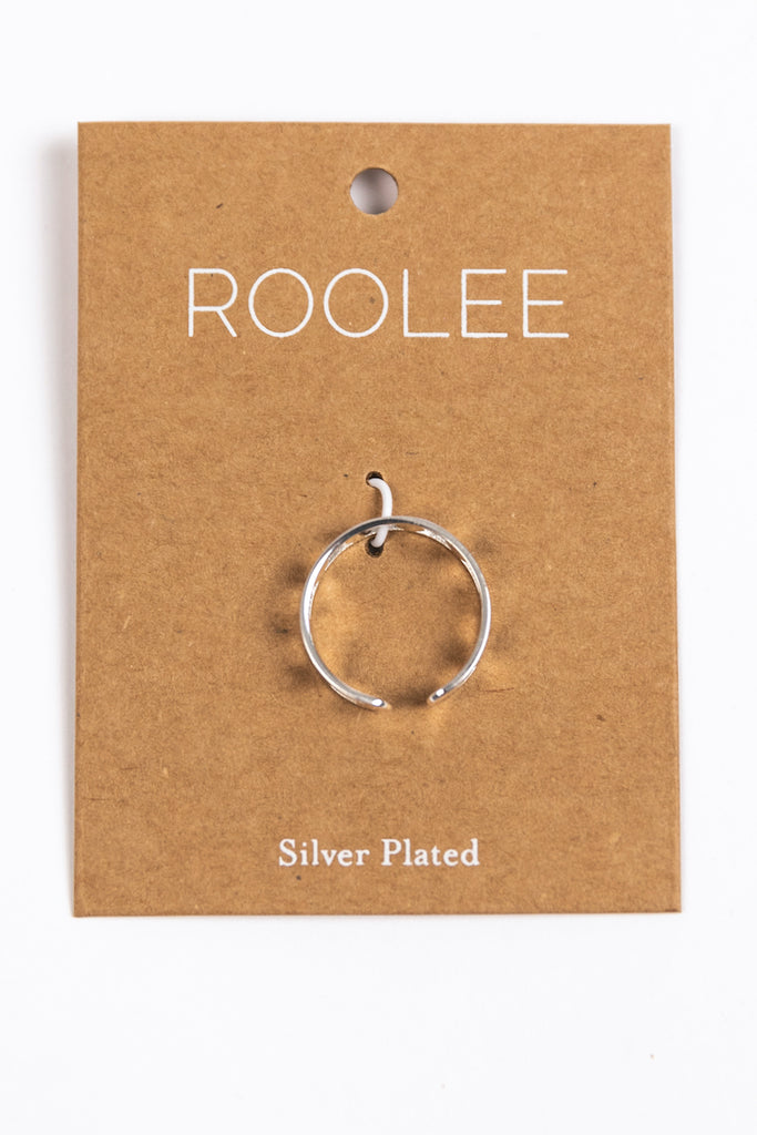 Silver Coated Adjusted Everyday Ring | ROOLEE