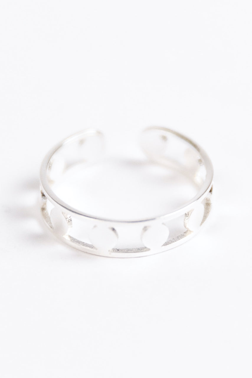 Women's Silver Coated Rings | ROOLEE