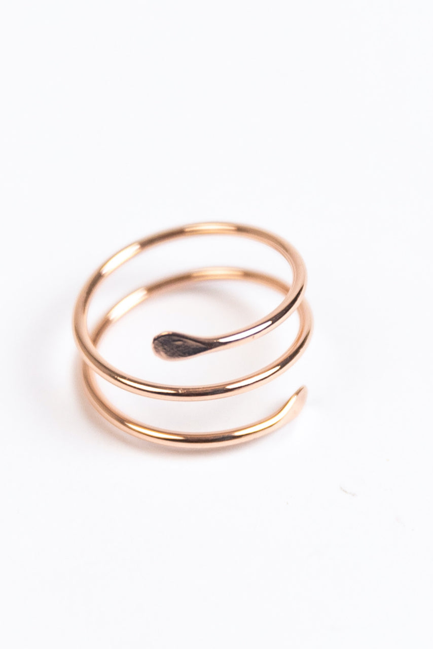 Rose Gold Adjustable Rings | ROOLEE