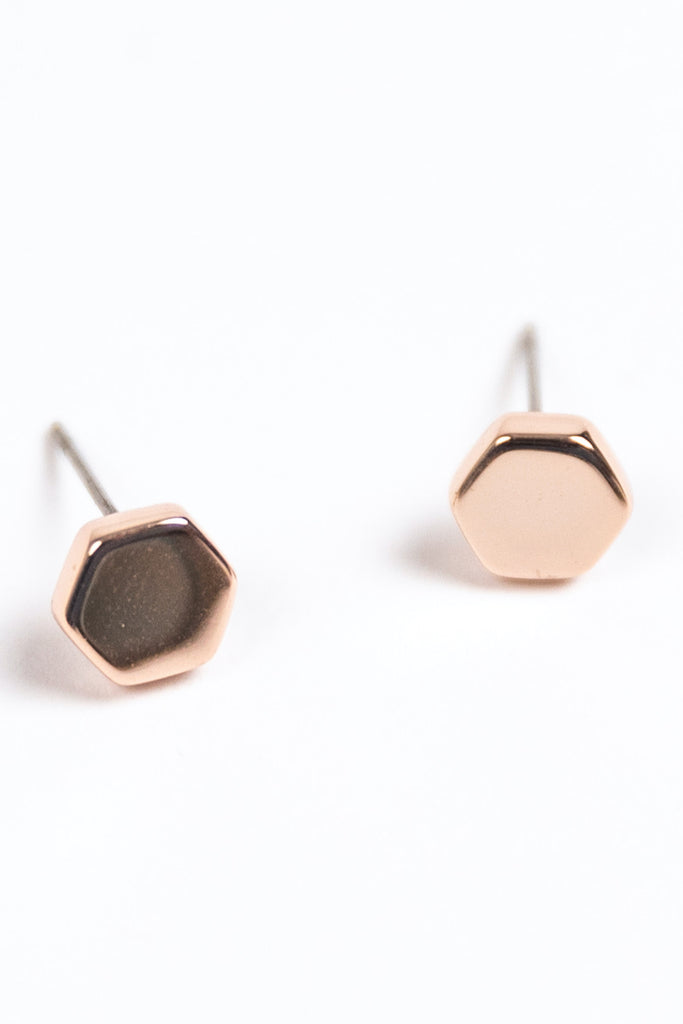 Rose Gold Earrings | ROOLEE