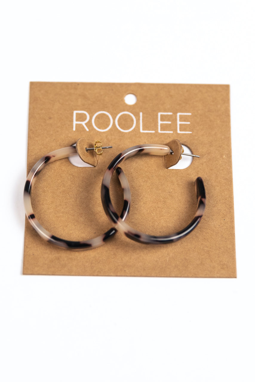 Trendy Hoop Earrings | ROOLEE