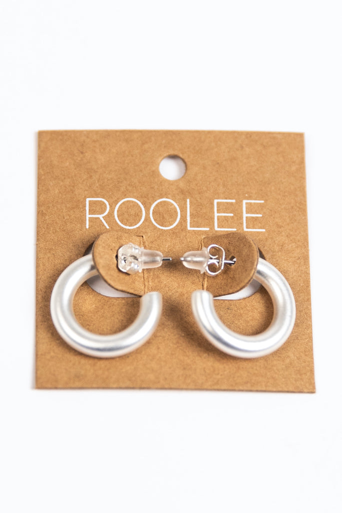 Fancy Hoop Earrings | ROOLEE