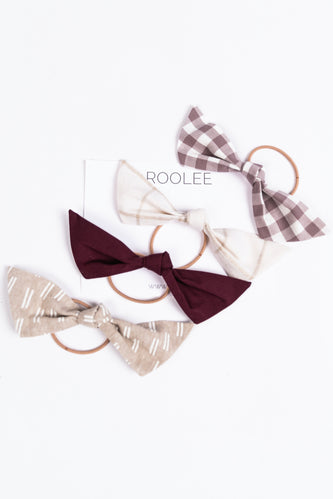 Hair Bow Set | ROOLEE
