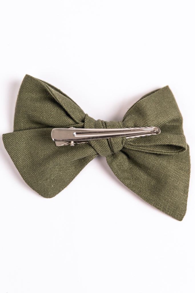 Alligator Clasp Hair Bow | ROOLEE