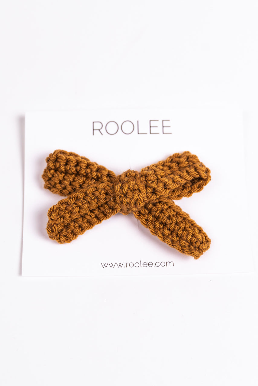 Cute Crochet Bow Clips | ROOLEE