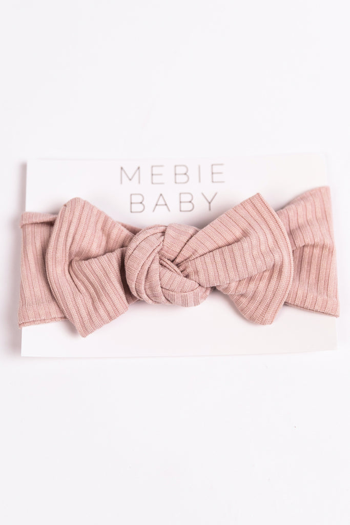 Soft Pink Baby Headband for Pictures | ROOLEE