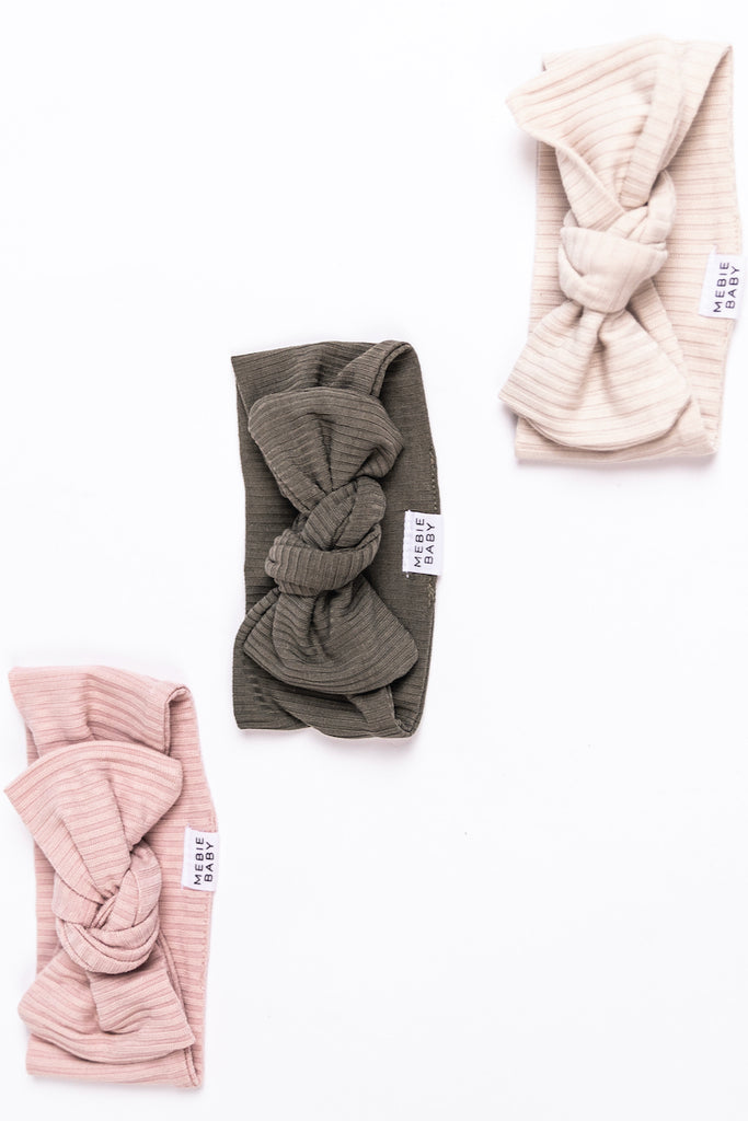 Neutral and Modern Tone Baby Headbands | ROOLEE