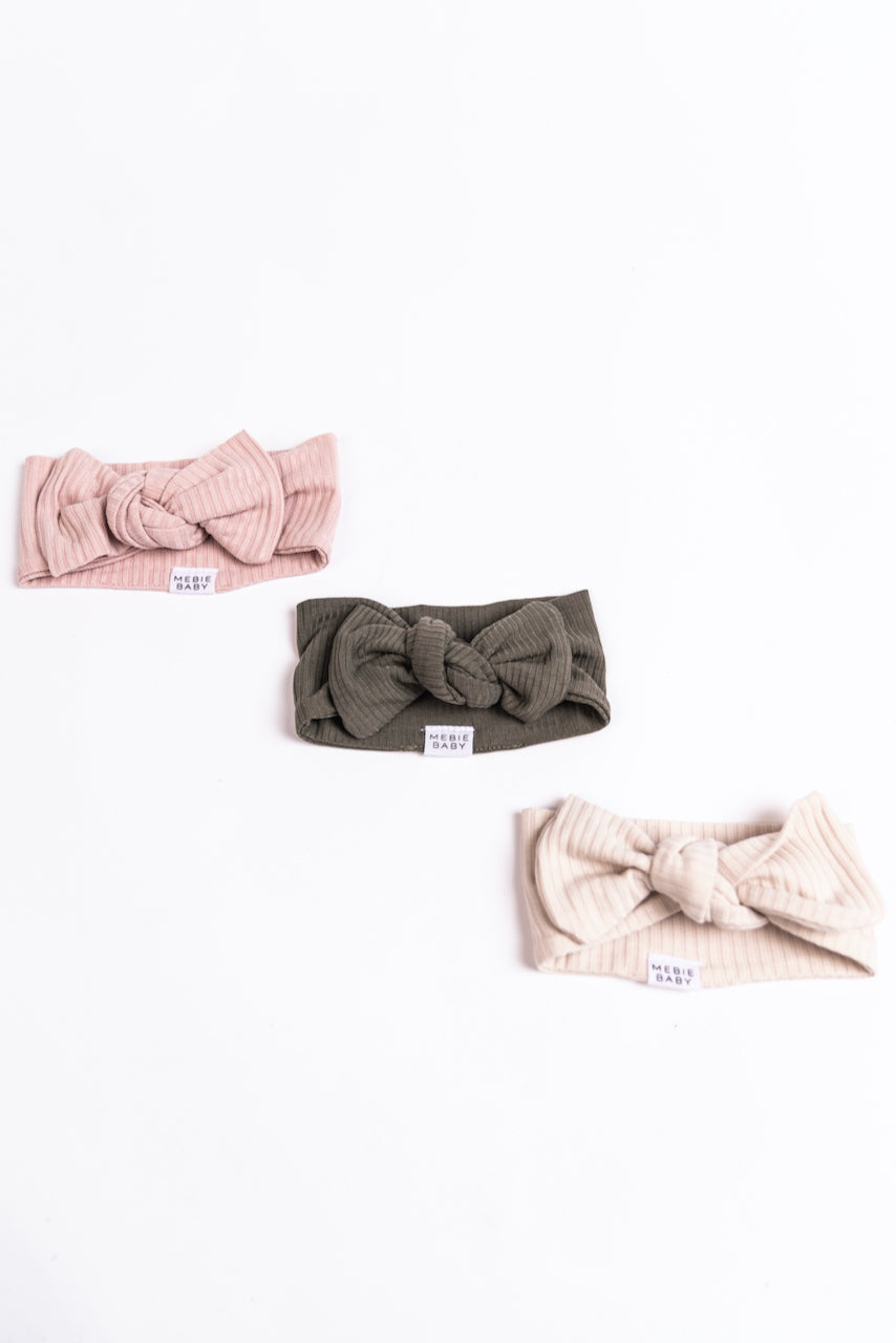 Neutral Modern Baby Headbands | ROOLEE