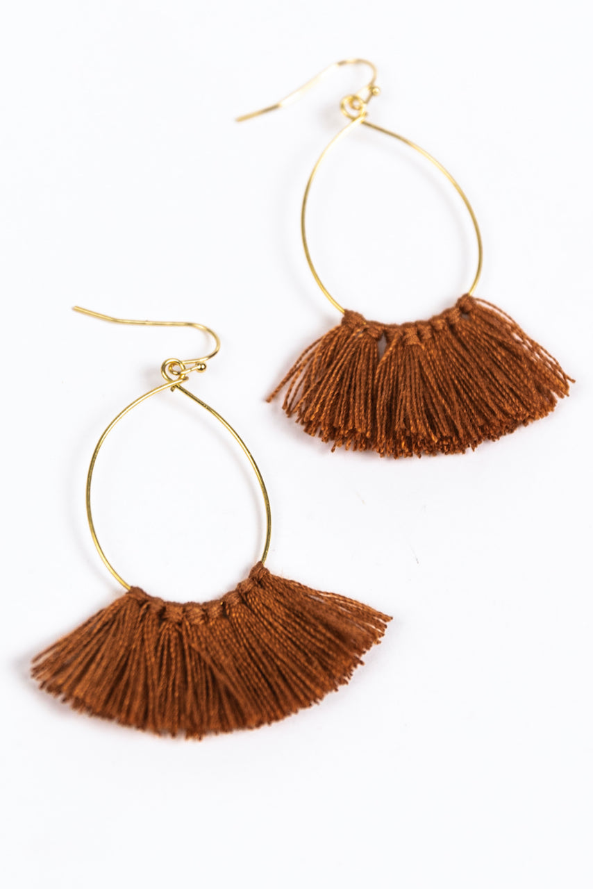 Holiday Tassel Earrings | ROOLEE