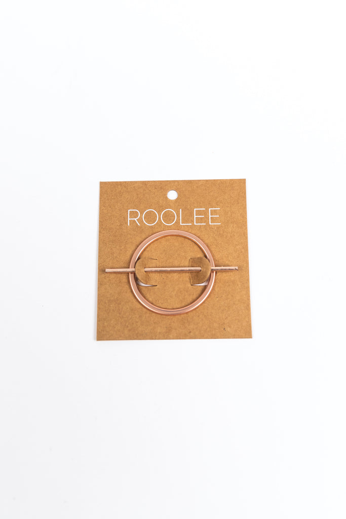 Rose Gold Simple Hair Accessories | ROOLEE