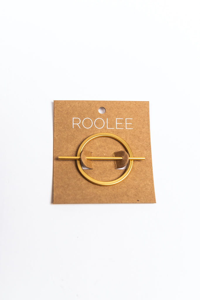 Gold Simple Hair Accessories | ROOLEE