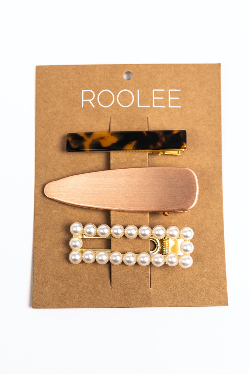 Fashion Hair Clips | ROOLEE