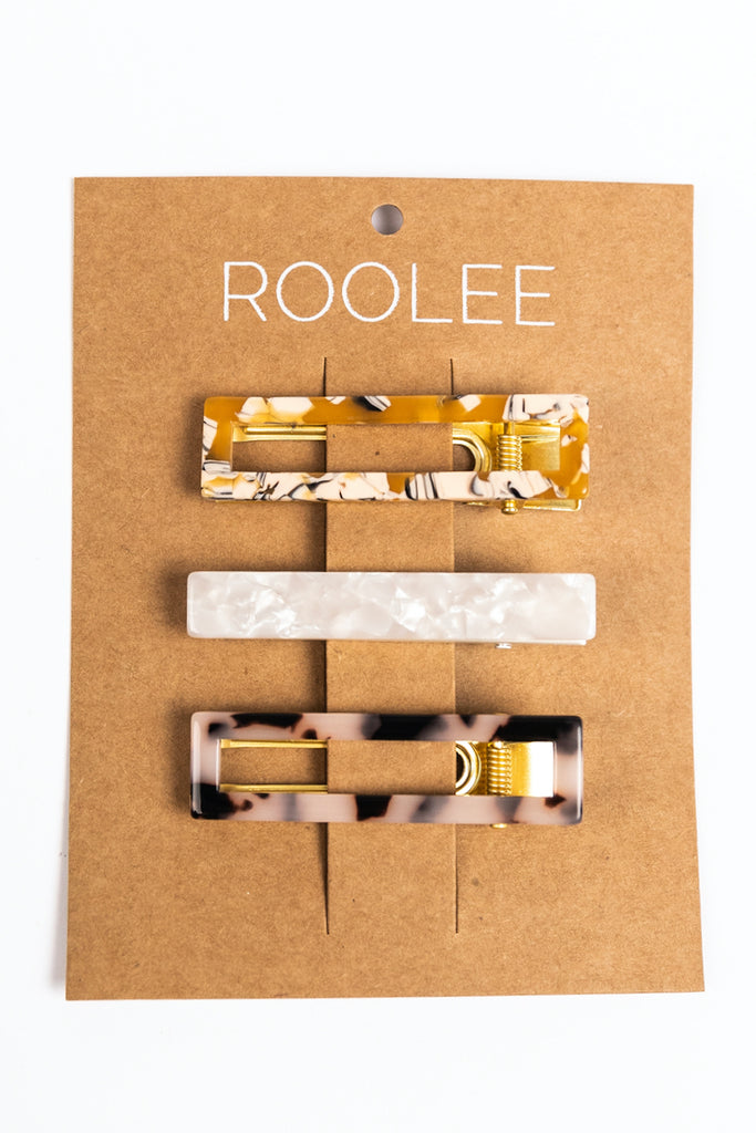 Floral Clips | ROOLEE