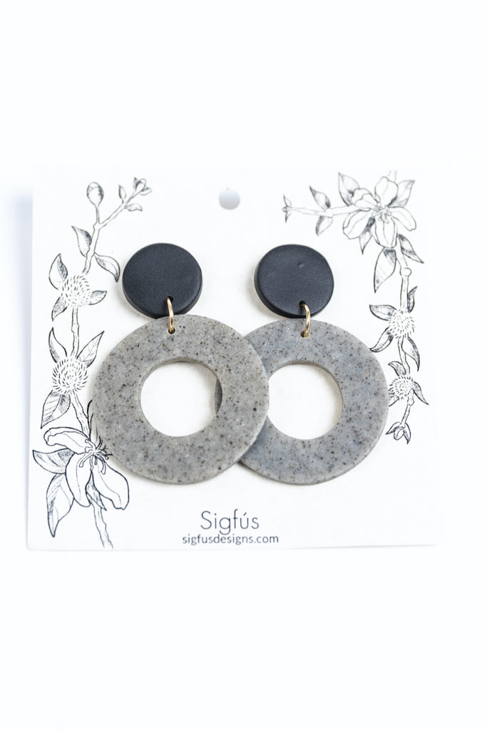 Edna Hoop Earrings